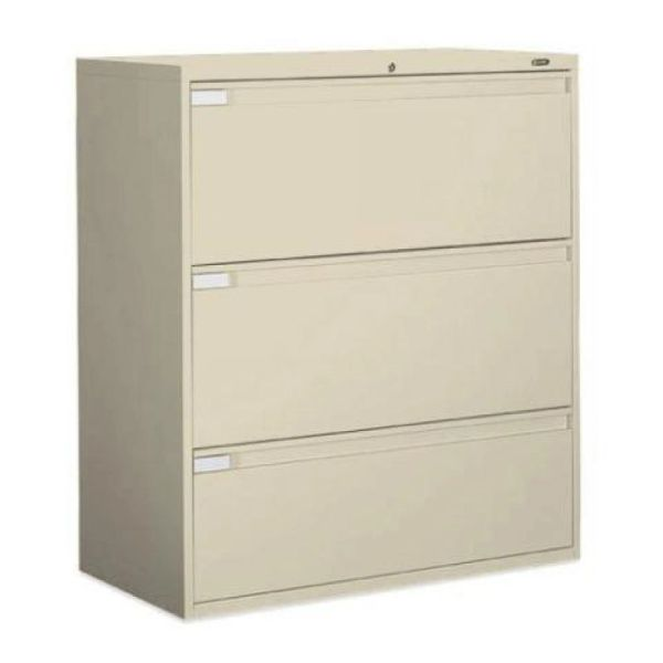 "Global 9342P Series 3 Drawer Lateral File 36"" Wide"