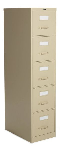 2500 Series 5 Drawer Vertical File, Letter (25-500)