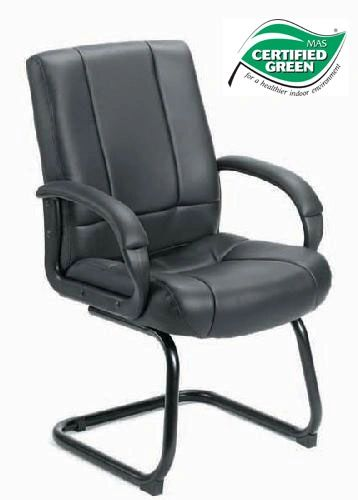 Boss Chair - Black CaresoftPlus Guest Chair B7909