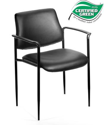 Boss Chair - Contemporary Style Stack Chairs - Colors Available B9503