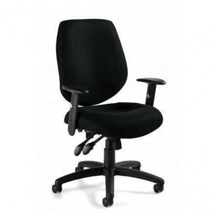 Global OTG - TOTG11631B Black Multi-Function Task Chair