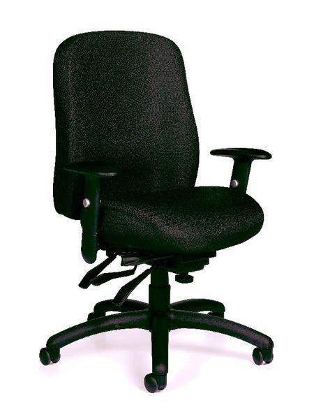 Global OTG - TOTG11710 Black Multi-Function Task Chair