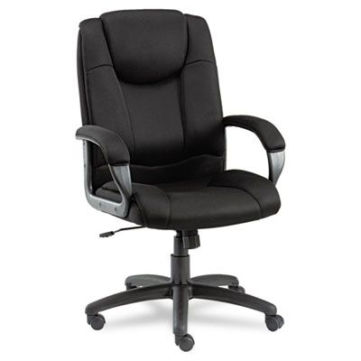 Logan Series Mesh High-Back Swivel/tilt Chair, Black