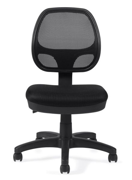 Global OTG - TOTG11642B Mesh Tilter Task Chair No Arms