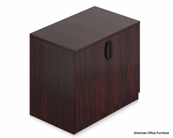 """Laminate 2-Door Storage Cabinet 36"""" x 24"""" - OTG - AOF"""