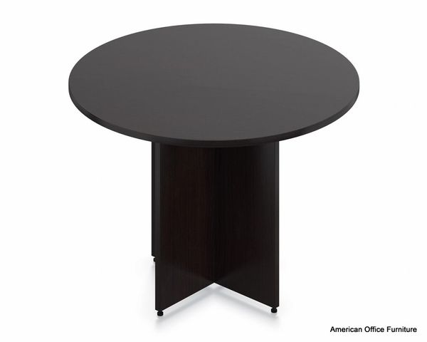 "Laminate 42"" Round Conference Table - OTG - AOF"