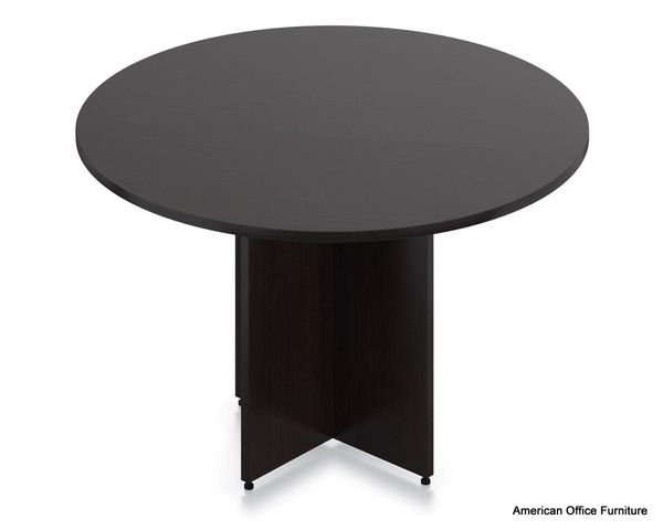 "Laminate 48"" Round Conference Table - OTG - AOF"