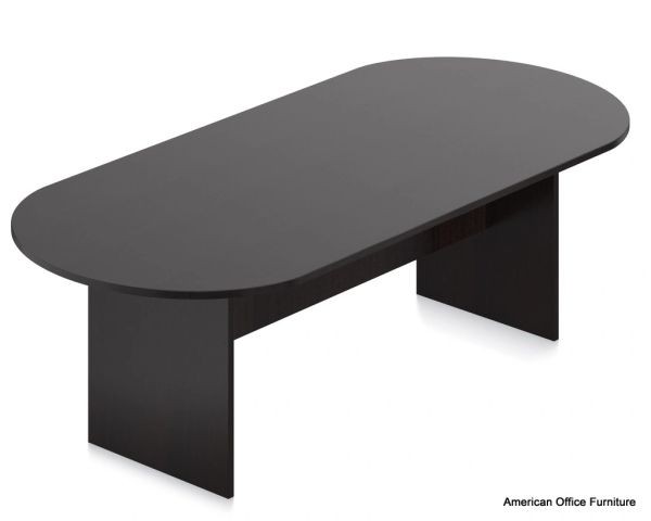 Laminate 8' Racetrack Conference Table - OTG - AOF