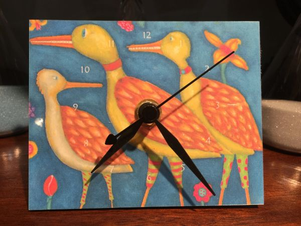 Paperwings Animal Clock