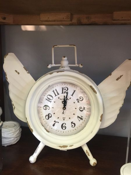 Angel Wing Clock