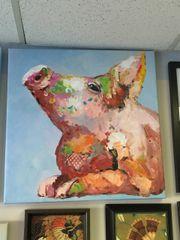 Jolly Art Pig