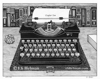 Eli Helman Matted Prints