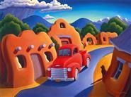 Michael Baum Whimsical West Paintings