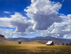 Michael Baum Cloud Paintings