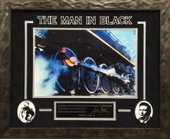 "Johnny Cash ""THE MAN IN BLACK"""