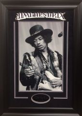 Jimmy Hendrix 12x18 Photo with Lasered Autograph Replica