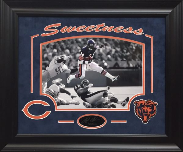 sale retailer 60420 99044 Walter Payton Chicago Bears 11x14 Photo Framed