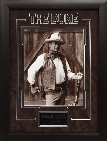 "John Wayne ""The Duke"" Framed Photo"