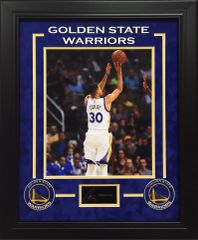 Stephen Curry Golden State Warriors 11x14 Photo with Engraved Autograph