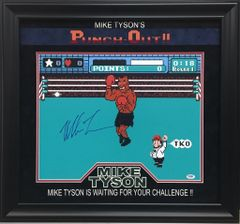Mike Tyson 'Punch Out' Signed 16x20 photo