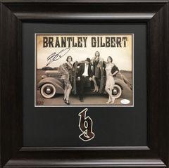 Brantley Gilbert Signed 8x10 Photo