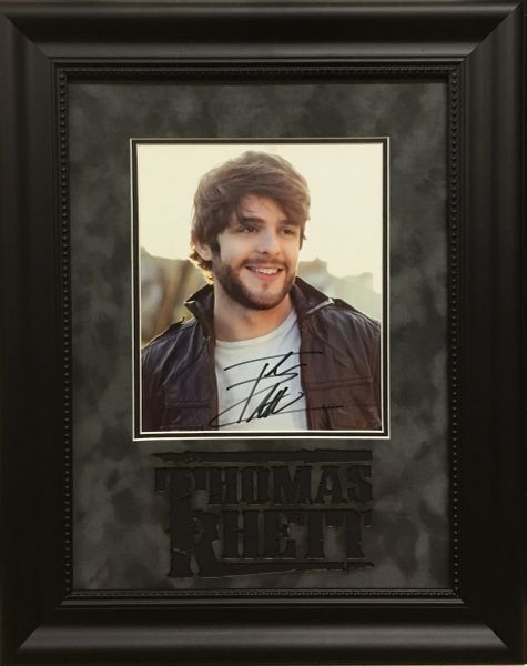 Thomas Rhett Signed Photo