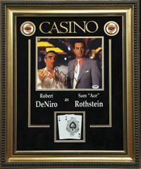 "Robert Deniro signed ""CASINO"" 8x10"