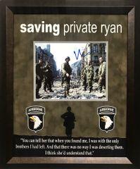 "Matt Damon ""Saving Private Ryan"" Autographed 8x10 photo"