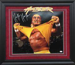 "Hulk Hogan ""Hulkster"" Signed 16x20 photo"