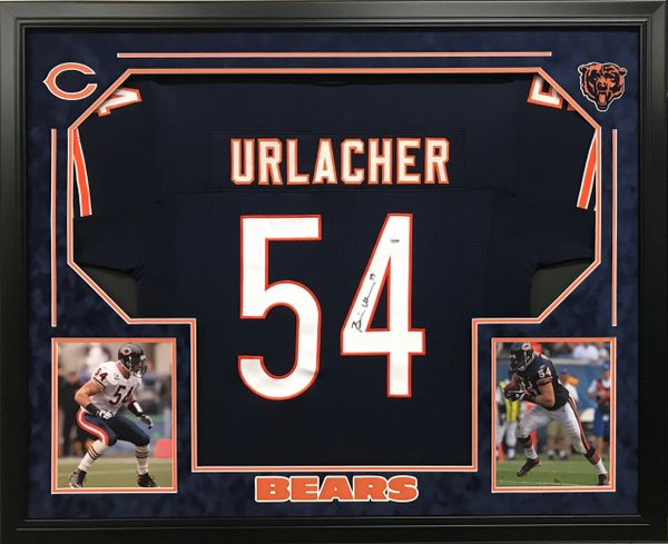 Brian Urlacher Chicago Bears Signed Jersey