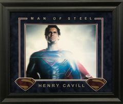 "Henry Cavill SUPERMAN ""Man Of Steel"" Signed 11x14"