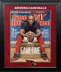 "LARRY FITZGERALD ""ARIZONA CARDINALS"" SIGNED 16X20"