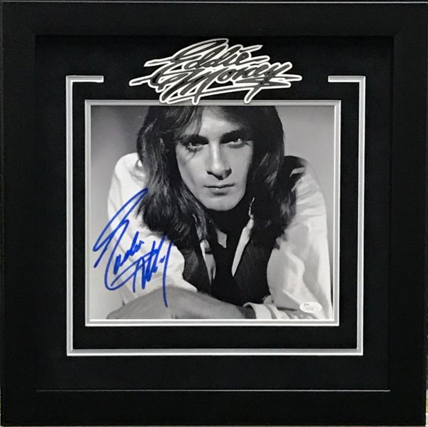 EDDIE MONEY SIGNED 10X10 PHOTO