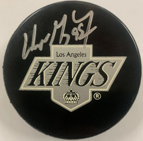 WAYNE GRETZKY SIGNED L.A. KINGS HOCKEY PUCK