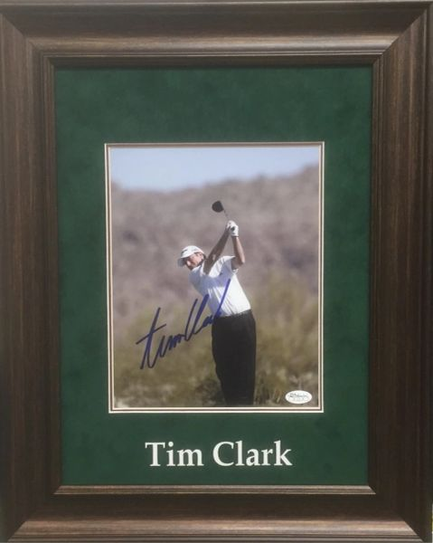 Tim Clark Signed 8x10 Golf Photo