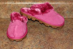 Ugg Australia Pink Classic Short Shoes/Slippers
