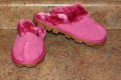 Ugg Australia Pink Classic Short Shoes/Slippers