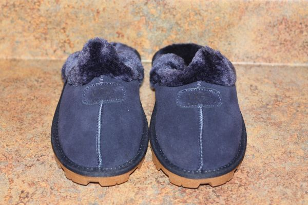 Ugg Australia Dark Blue Classic Short Shoes/Slippers