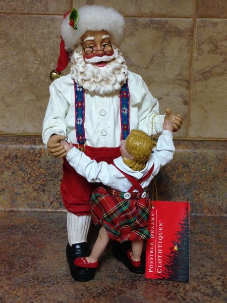 Clothtique Possible Dreams Santa