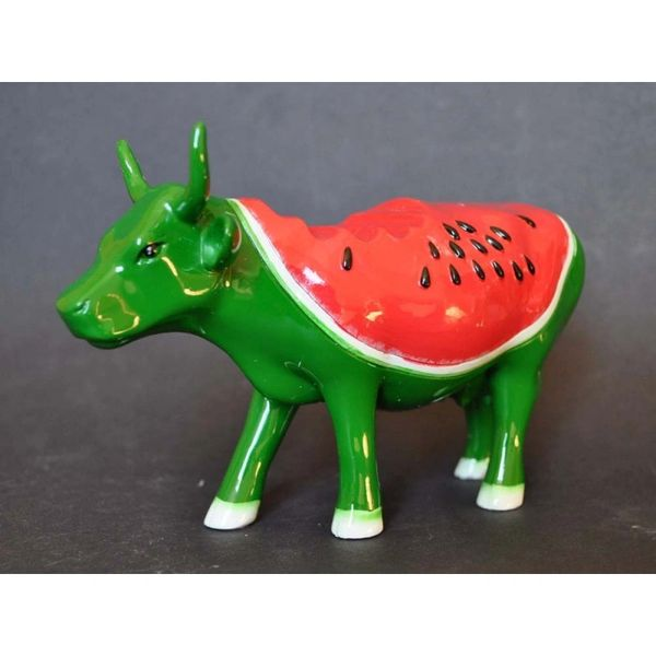 Cow Parade Watermelon Cow (Large) Collectible Figurine 46461