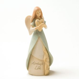 Foundations Mini Angel of Hearts Collectible Figurine 4025645