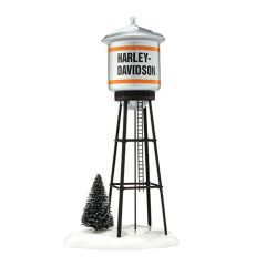 Department 56 Harley-Davidson Juneau Ave. Water Tower 56.4042421