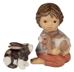Goebel M.I. Hummel Little Wishes Bunny Love 2-Piece Set 465294