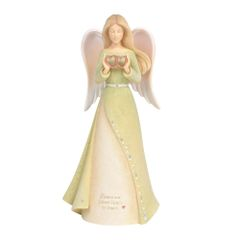 FOUNDATIONS SISTER HEART ANGEL FIGURINE 6004085