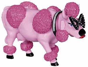 Cow Parade French Moodle Collectible Figurine 47868