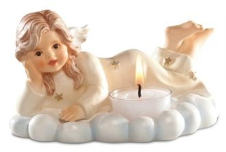 M.I. Hummel Angel Christmas Light (Champagne) 828052