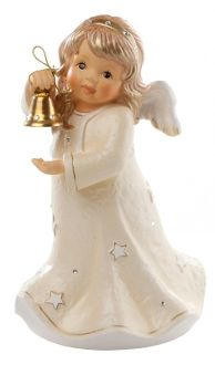 M.I. Hummel Angel With Bell (Champagne) 828127