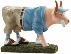 Cow Parade Golfer Cow Collectible Figurine 47841