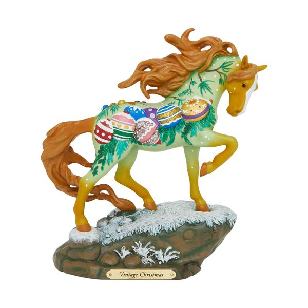 THE TRAIL OF THE PAINTED PONIES VINTAGE CHRISTMAS FIGURINE 6007462