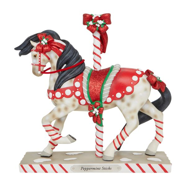 THE TRAIL OF THE PAINTED PONIES PEPPERMINT STICKS FIGURINE 6007464